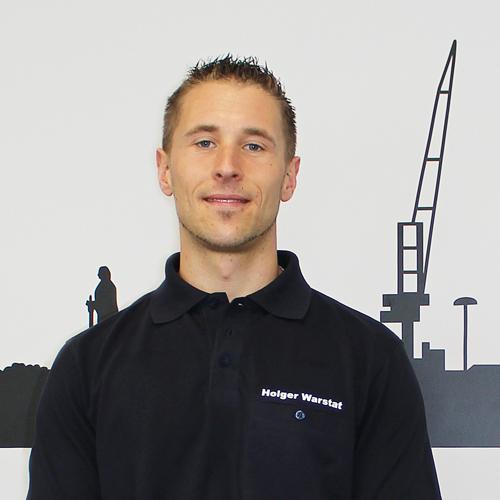 Techniker Holger Warstat