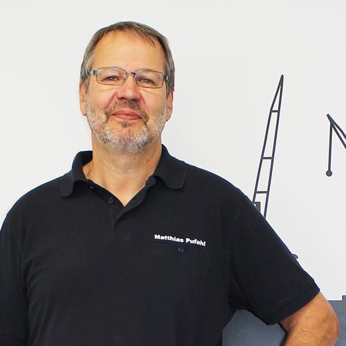 Leiter Kundendienst Matthias Pufahl