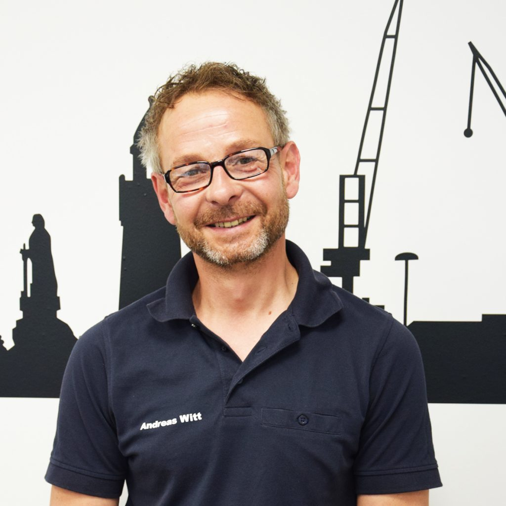 Techniker Andreas Witt